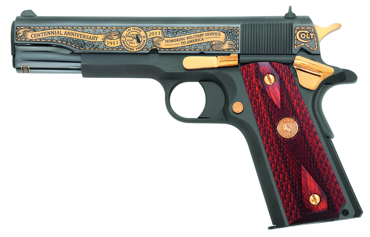 COLT 1911 Anniversary US Army Blue Image
