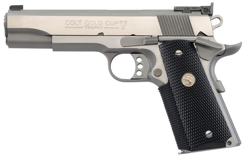COLT 1911 Gold Cup Trophy Stainless Image