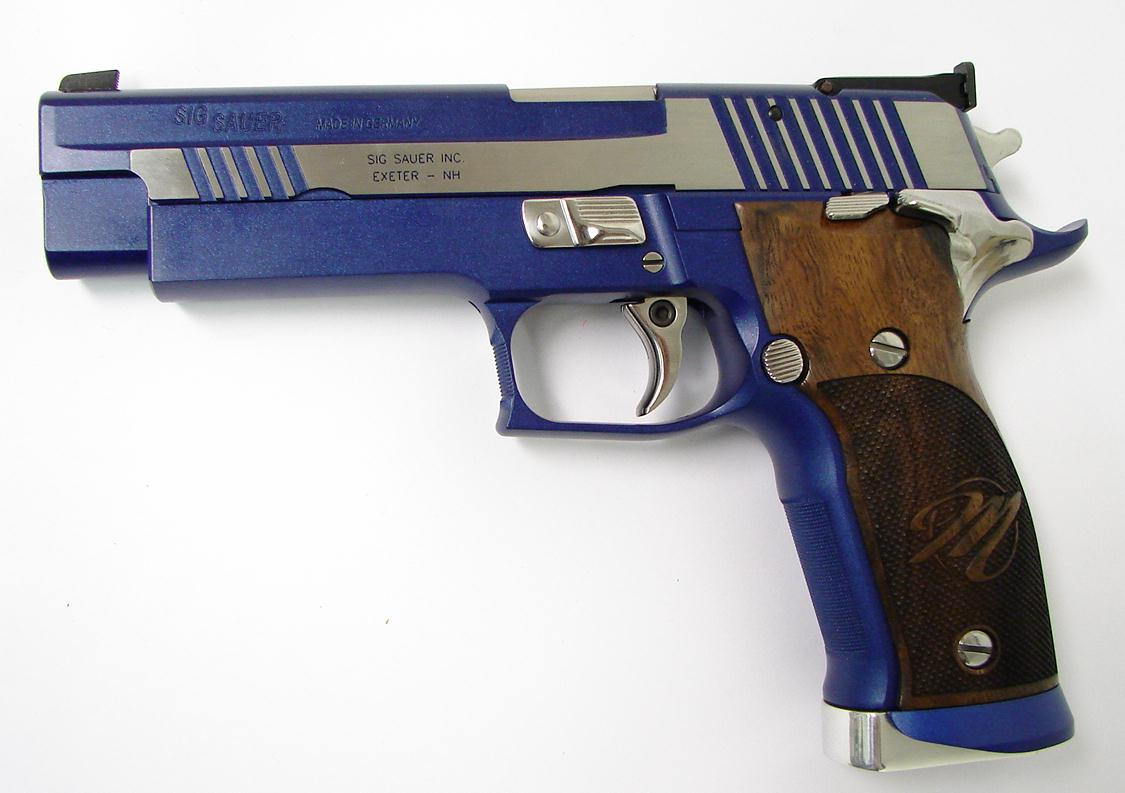 SIG SAUER P226 X-Five Blue Moon Image