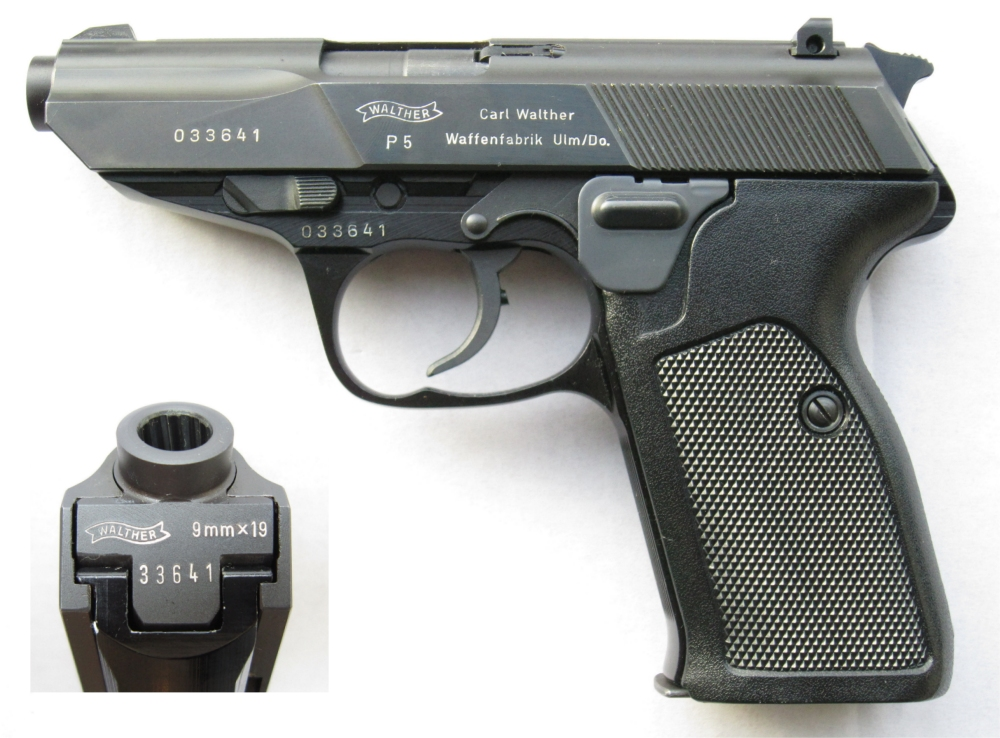WALTHER P5 Image